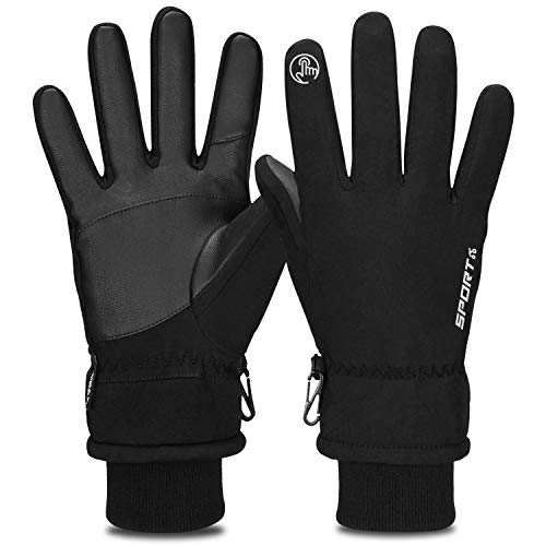 Yobenki Winter Gloves, -30°F Touch Screen Thermal Gloves Windproof Warm Gloves Men Women