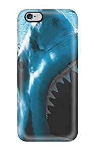 Defender Case For Iphone 6 Plus, Baring Teeth Pattern