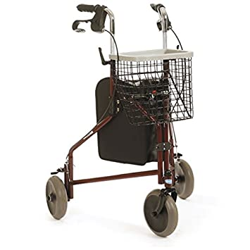 Amazon.com: Invacare Delta – Andador de 3 ruedas: Health ...