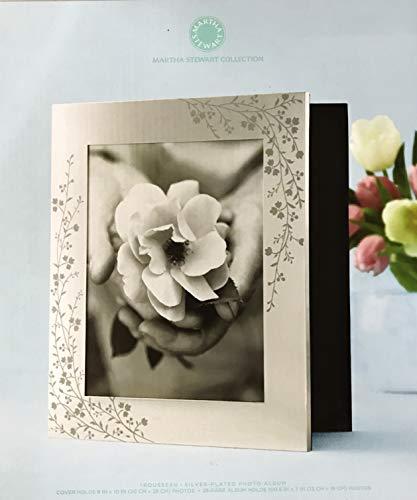 Martha Stewart Collection Photo Album, Silver Plated Trousseau