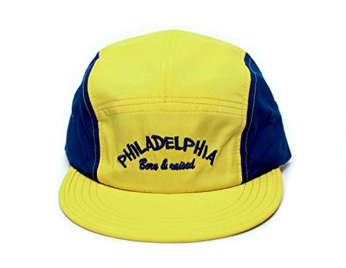 (Posse Comitatus The Fresh Prince of Bel Air Philadelphia Born & Raised Hat Yellow/Royal Cap)