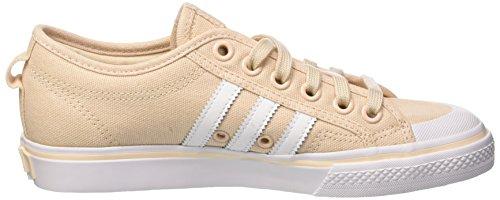 Adidas W Nizza linenftwwhtftwwht De Basketball Femme Chaussures Multicolore RrR6xqv