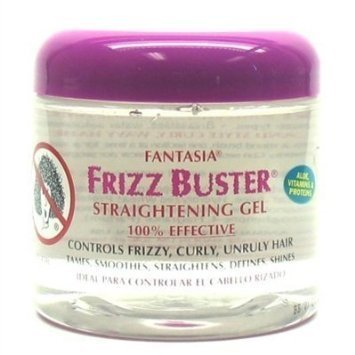 Fantasia Gel Frizz Buster Straightening 16oz (2 Pack)