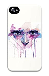 iPhone 4S Case Ink Painting- The Eye Pattern Hard Back Skin Case Cover For Apple iPhone 4 4G 4S Cases