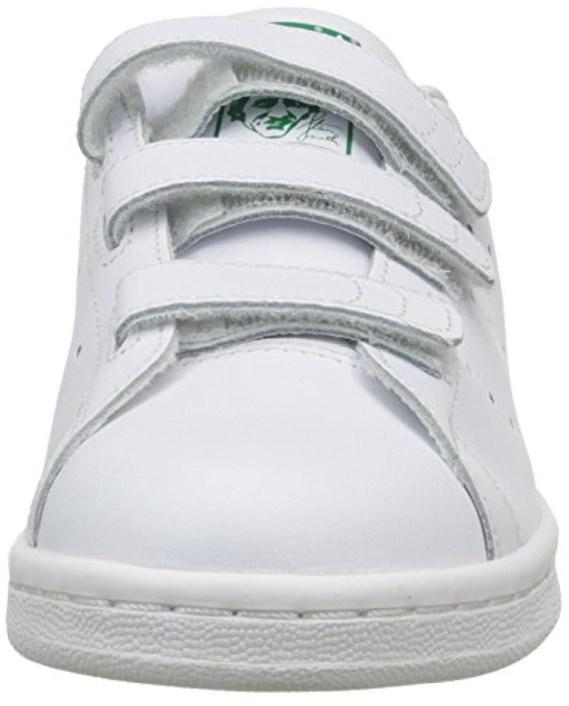 Adidas Stan Smith Cf J, Unisex Kids' Basketball Shoes, Off White (Ftwwht/Ftwwht/Ftwwht), 3.5 UK (36 EU)