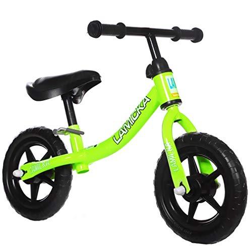- YAXuan 10''Children's Balance Bike, Taxiing Bike, No Pedals, Children's Slide Bike, Toy Bike, Children's Toddler Bike, Develop Intelligence, Exercise Cerebellum Development,E