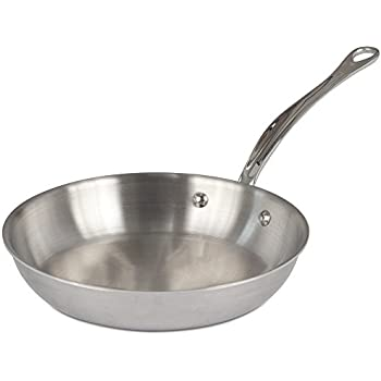 Amazon Com Mauviel M Cook Round Frying Pan Cast Stainless