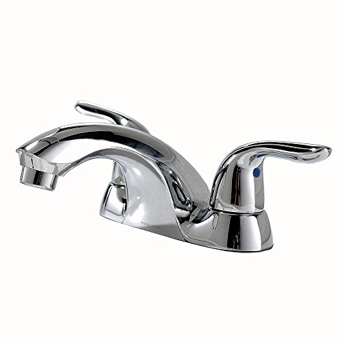 Modern Double Handle Fixture - VCCUCINE Modern Commercial Double Handle Widespread Chrome Bathroom Faucet, Lavatory Vanity Vessel Sink Faucet Supply hose and Pop Up Drain Not Included