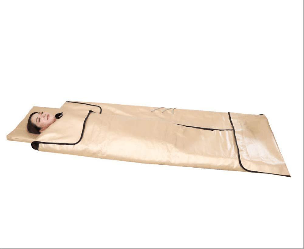 MEYLEE Portable Infrarrojos Terapia Sauna Manta Ion Sauna de Iones Negativos w/3 Zonas, SPA Manta de Sauna climatizada (bajo EMF): Amazon.es: Hogar