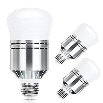 Haofy Bombillas Sensor de Luz LED 7W E26/E27 Bombillas Lámpara de Lluminación (12w