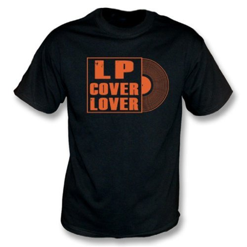 LP Cover Lover T-Shirt XX-Large Black