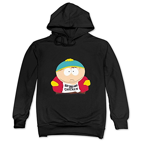 South Park Eric Cartman Hoodies Sweatshirt Black Mens Funny