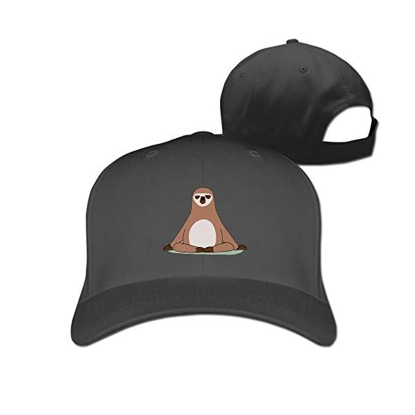 Snap Sloths Plain Adjustable Baseball Hats -