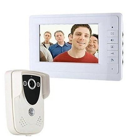 MobileFDL 17,78 cm vídeo interfonos de puerta entrada ...