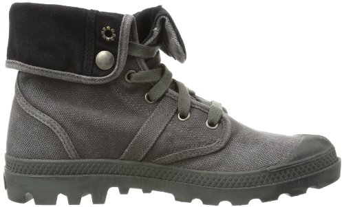 Palladium PALLABROUSE BAGGY~METAL/BLACK~M - Casual Mujer Gris Oscuro