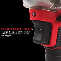 AUTOJARE Cordless Impact Wrench Kit Brushless 20V Max Lithium-Ion 1//2 Inch Cordless Wrench Kit AUTOJARE COMPANY LIMITED AJ-US-LDB1801