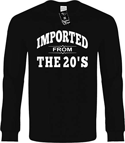 Funny Long Sleeve Size XL (Imported from The 20'S (Roaring Twenties) Novelty Tee