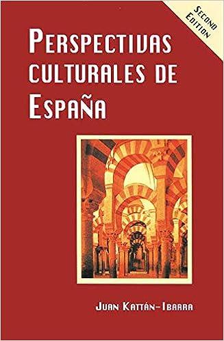 Amazon.com: Perspectivas Culturales de Espana, 2nd Edition ...