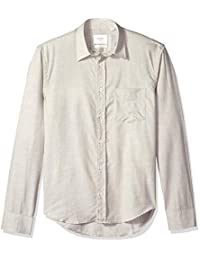 Billy Reid de los hombres Slim Fit - Button Down Kirby Camisa