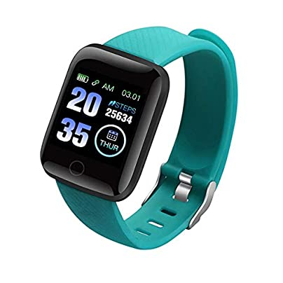 QQFTCM Smartwatch D13 Smart Wristband Heart Rate Monitor Sport Watch Fitness Tacker waterproof Men Women For Android ios Estimated Price £46.00 -