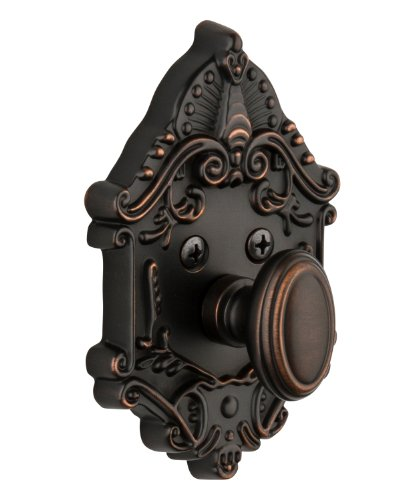 Grandeur GS60-GVCGVC-KD-TB Grande Victorian Deadbolt, Single Cylinder, Timeless Bronze Finish