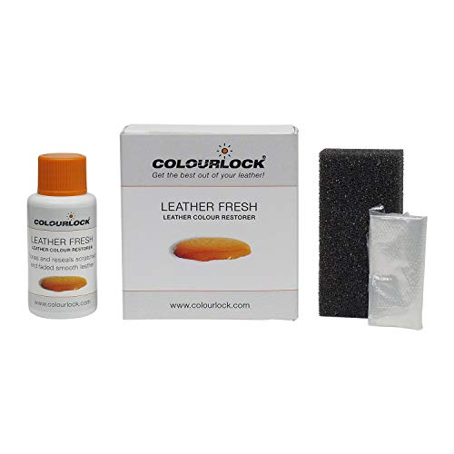 - Colourlock Leather Fresh Dye 30 ml DIY Repair Colour, dye, Restorer for Scuffs, Small Cracks on car Seats, Sofas, Bags, settees and Clothing - F046 Anthracite