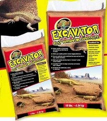 ZOO MED/AQUATROL, INC - EXCAVATOR CLAY SUBSTRATE 5LB (BURROWING) ''Ctg: REPTILE PRODUCTS - REPTILE - SUBSTRATE/BEDDING'' by Zoo Med