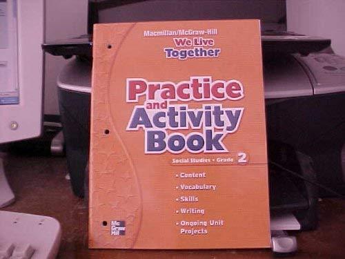 We Live Together: Practice and Activity Workbook, Grade 2 -  Macmillan, Paperback