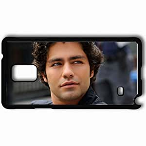 Personalized Samsung Note 4 Cell phone Case/Cover Skin Adrian grenier actors famous for being star of the devil wears prada and hbos entourage Black