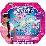 Cra-Z-Art 3D Shimmer n Sparkle Glitter n Gems Flower Hair Wear