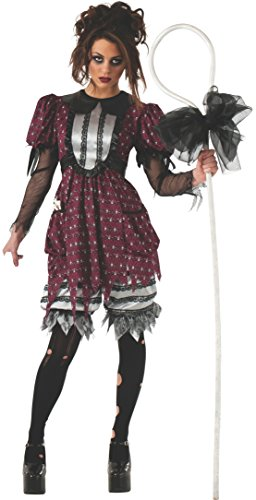 Rubie's Costume Women's Scary Tales Adult Lil Bo Creep Costume, Multi, Standard -