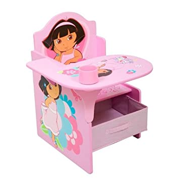 nickelodeon s dora chair desk with pull out under the seat storage rh amazon co uk dora charm bracelet dora characters names