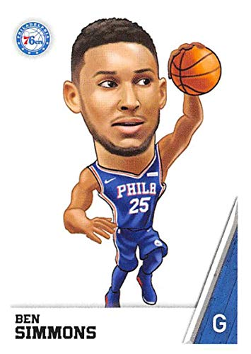 2018-19 Panini NBA Stickers #168 Ben Simmons Fathead Philadelphia 76ers NBA Basketball Sticker Trading Card
