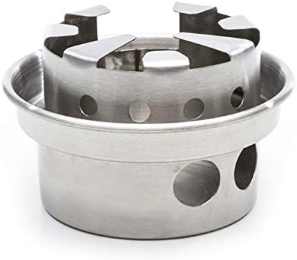 Kelly Kettle Small Stainless Steel Hobo Stove Kit – Stick Stove for Backpacking