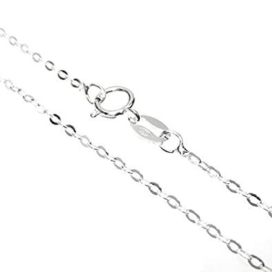 inch necklaces chains x sliver sterling chain silver necklace fine