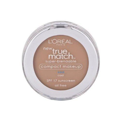 Loreal True Match Compact - L'oreal Paris True Match Super-blendable Compact Makeup, SPF 17, Shell Beige, 0.30 Ounce, 2 Ea