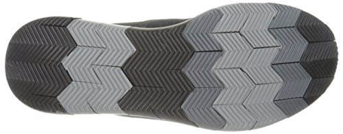 Skechers Prestaties Heren Gaan Flex Slip-on Walking Schoen Zwart / Grijs