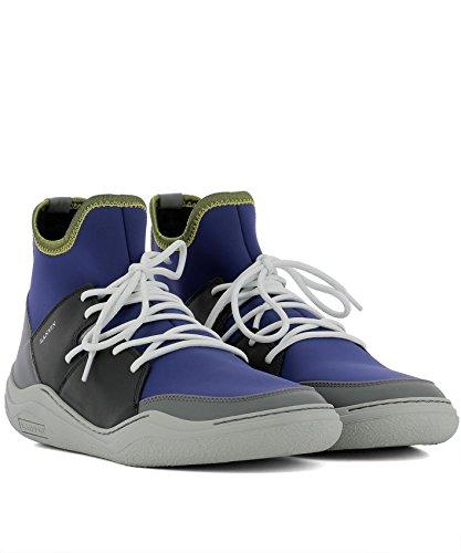 Footlocker Finishline Línea Barata Lanvin Hi Top Sneakers Uomo FMSKDKLNNEOPH172414 Tessuto Blu Alta Calidad Precio Barato Estilo De La Moda En Línea La Cantidad De Descuento Venta Barata Muy Barato IB0BNW
