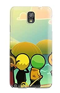Snap-on Case Designed For Galaxy Note 3- Awesome One Piece Anime S by icecream design