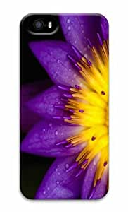 iPhone 5 3D Hard Case Water Lily Macro