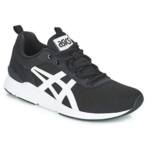 40 Negro blanco Gel Hombres Moda lyte Runner Zapatillas Asics Bajas 8P4vY