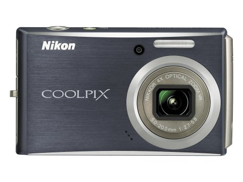 Nikon Coolpix S610c 10MP Wi-Fi Digital Camera with 4x Optical Vibration Reduction (VR) Zoom (Midnight Black)