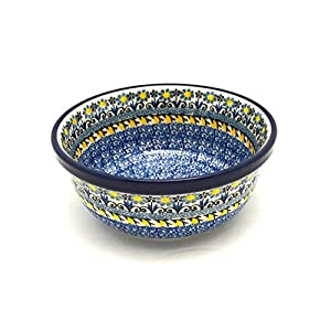 Polish Pottery Bowl – Soup and Salad – Daisy Maize
