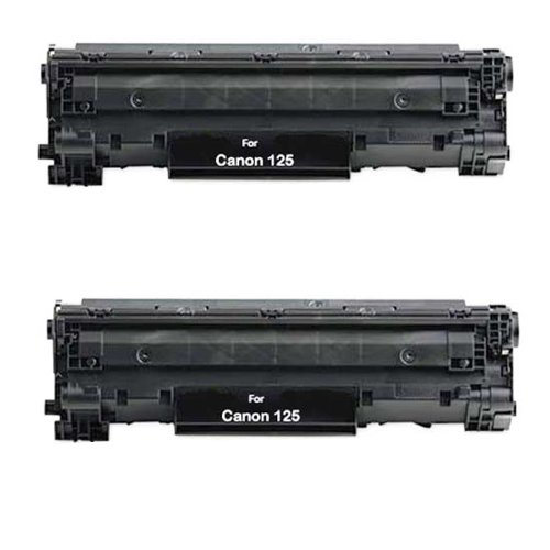 HI-VISION HI-YIELDS Compatible Toner Cartridge Replacement for Canon 125 (2-Pack), Office Central