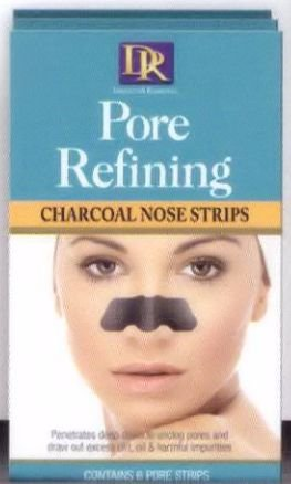 Daggett & Ramsdell Pore Refining Charcoal Nose Strips 6-Count (Pack of 12)