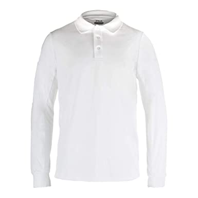 7e0ce0d5ec Amazon.com: Fila Men's Serve Crestable Long Sleeve Polo Tennis Shirt ...