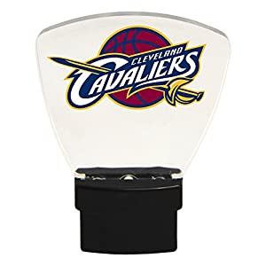 Authentic Street Signs NBA Officially Licensed-LED NIGHT LIGHT-Super Energy Efficient-Prime Power Saving 0.5 watt-Plug In-Great Sports Fan gift for Adults-Babies-Kids Room