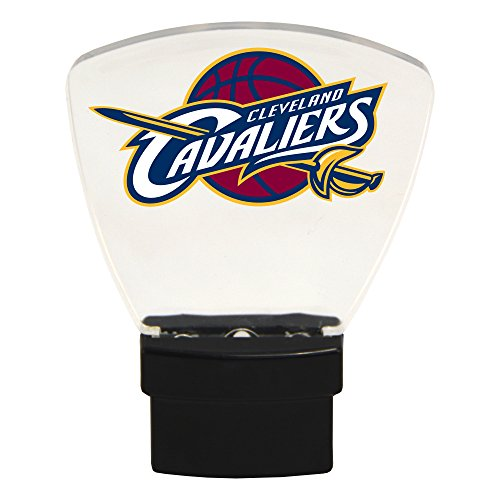 Authentic Street Signs NBA Officially Licensed-LED NIGHT LIGHT-Super Energy Efficient-Prime Power Saving 0.5 watt-Plug In-Great Sports Fan gift for Adults-Babies-Kids Room (Cleveland Cavaliers) from Authentic Street Signs