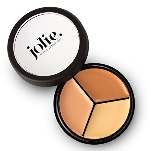 Palette Pro Concealer - Jolie Pro Palette Correct & Conceal Concealer ~ Medium Neutral, Light Amber, Deep Sand