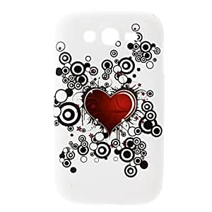 Heart-Shaped Pattern Hard Case for Samsung Galaxy Grand DUOS I9082